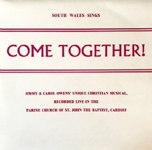 South Wales Sings ‎- Come Together! (LP) (VG-EX/VG-)